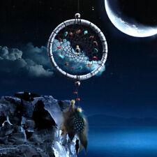 Hot Traumfänger Dreamcatcher Indianer mit Fern Geschenk Auto Wand Bunts S2T4