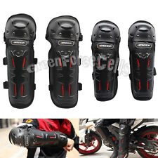 4 pcs Motorcycle Motocross Knee Elbow Guard Pads Braces Armor Protector Gear