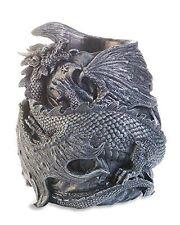 Gothic Fantasy Stone Effect Dragon Penpot Pen holder