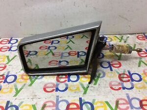 1981 - 1989 Chrysler Lebaron ARIES Reliant chrome Door Mirror Left Manual oem
