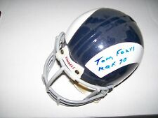 Tom Fears Autographed Rams Throwback Mini Helmet