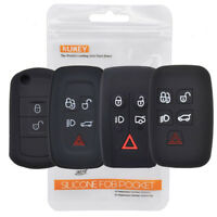 For Range Rover Sport Vouge Discovery Jaguar Silicone Key Case Remote Fob Cover