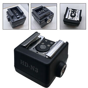 Portable Flash Hot Shoe Adapter HD-N3 for Sony Alpha A350 A450 Compact