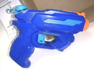 NERF Super Soaker ALPHAFIRE WATER BLASTER Squirt Gun Pistol FREE SHIPPING