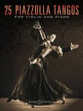 25 Piazzolla Tangos for Violin and Piano (Paperback or Softback)