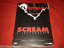 SCREAM L'INTEGRALE LA TRILOGIE COFFRET 3 DVD COMPLET VF
