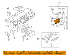 MITSUBISHI OEM 03-06 Lancer Dash Cluster Switch-Trim Bezel MN151264HA