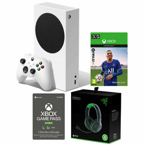 Xbox Series S Console with FIFA 22 Headset & Xbox Game Pass 3 Month Subscription