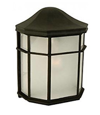 Craftmade Z103-04 Wall Lantern with Frosted Acrylic Lens Shades