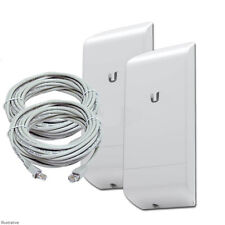Ubiquiti M2 150Mbps Outdoor Wireless Bridge Kit (2.4GHz, Up to 1Km)