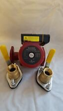 """34 GPM 3 speed Pump WITHOUT Cord with (2) 1 1/4"""" Flanged Ball Valves"""