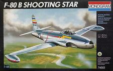 """Monogram 1:48 Lockheed F-80B """"Shooting Star"""". Kit Nr. 74003"""