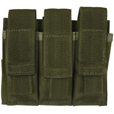 Fox Outdoor Triple Pistol Mag Pouch OD Green Tactical magazine holster
