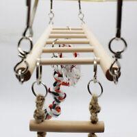 Bird Hamster Hanging Swing Hammock Bed Rat Cage Nest Climbing Ladder Toy US