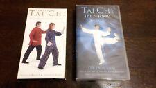 Tai Ch The 25 Forms + Simply Tai Chi VHS *Rare*