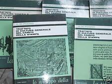 TRATTATO DI CULTURA GENERALE NEL CAMPO DELLA STAMPa 5vv