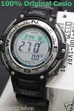 SGW-100-1V Men's Casio SPORTS GEAR THERMOMETER ALARM TWIN SENSOR Compass SGW100