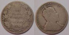 1909 Canadian Quarter Dollar Canada G Good
