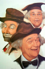 """THE ART OF JIM HOWLE  """" RED SKELTON """"  SIGNED / LIMITED PRINT  -  ARTIST PROOF"""