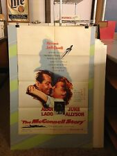 McCONNELL STORY,THE-ALAN LADD,JUNE ALYSON,J.WHITMORE-1955-ORIGINAL MOVIE POSTER