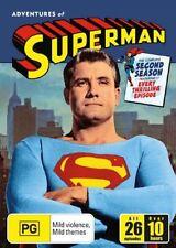 Adventures Of Superman : Season 2 (DVD, 2006, 5-Disc Set)