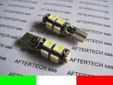 COPPIA LAMPADE LED TUTTOVETRO RESISTENZA CDB T10 W5W L9