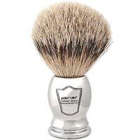 Parker 100% SILVERTIP BADGER Chrome Handle Handmade Shaving Brush Dense Knot