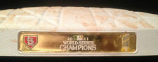 Bryce Harper Game Used FINAL HR #22 (2nd Base) NL RECORD-Washington Nationals