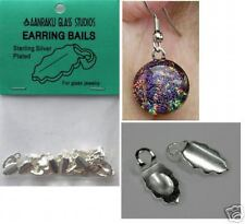 Aanraku Silver Earring Bails- Pk of 24 Hot New Item!