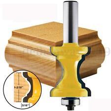 """Bullnose Bead Column Face Molding Router Bit 1/2"""" Shank Edging Carbide Cutter"""