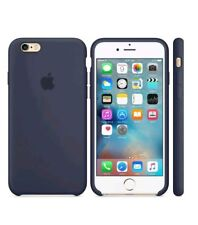 MIDNIGHT BLUE ORIGINAL GENUINE Apple Silicone Case iPhone 6/6S PLUS 5.5""