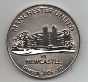 manchester united vs newcastle season 2006-07 medal
