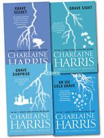 Charlaine Harris 4 Books Collection Set Pack Harper Connelly Mysteries Series