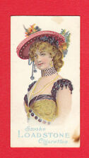 FRANKLYN  DAVEY  & CO. - EXTREMELY  RARE  BEAUTIES  ' CERF '  CARD  (6)  -  1905