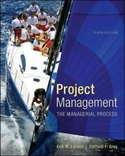 Project Management : The Managerial Process 6th Int'l Edition