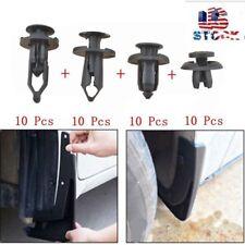 40Pcs Clip Trim Car Push Pin Rivet Bumper Door Panel Retainer Fastener Kit GM