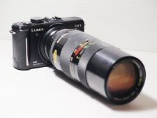 85-210mm= lens 170-420mm on LUMIX G HD 4K Micro 4/3 Digital PEN OMD G2 G5 G6 GM1