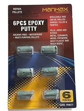 More details for epoxy putty pellets filler metal ceramic sealant wood pipe brick strong glue