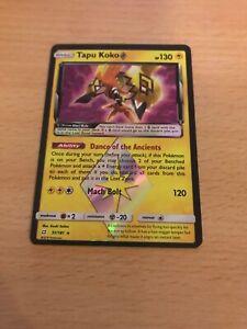 Pokemon Card Holo Tapu Koko 51/181 Inc Free Card Deal