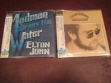 ELTON JOHN HONKY CHATEAU MADMAN ACROSS JAPAN REPLICA OBI CDS ONE TIME 17 SPECIAL