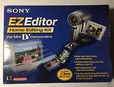 Sony EZ Editor MiniDV Home Video Editing Kit for PC (Windows 98 and higher)