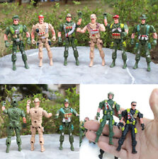 Military Plastic Toy Soldiers Army Men 9cm Figures & Accessories Toy Boy Gift
