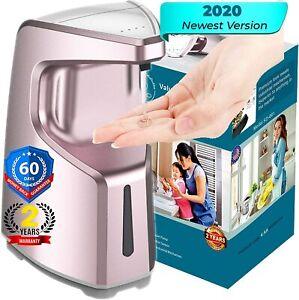 Automatic Touchless Soap Dispenser | Premium, Waterproof 15.2oz/450ml, 4 Adj Vol