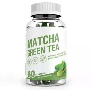 Matcha Green Tea Gummy/ High Effective Weight Loss Gummy/ 1000mg of Matcha.