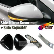 Oem Side Mirror Cover + Side Repeater for 2011 - 2016 HYUNDAI Elantra Avante MD
