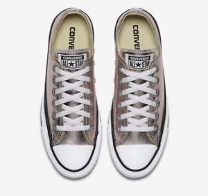 Converse All Star Ox Unisex Shoes Rose Quartz men Sz 9 (women Sz 11) 157661F