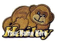 Monkey Custom Iron-on Patch With Name Personalized Free