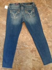 Vigoss The Chelsea Skinny Jeans Mid Rise Light Wash Size 31 New With Tags