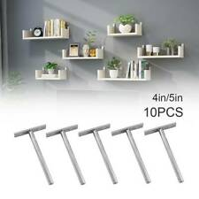 10x Heavy Duty Long Concealed/Hidden Floating Shelf Support Brackets 4/5'' UK