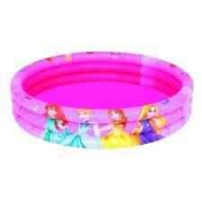 Jeux et activités de plein air rose avec piscines gonflables